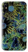 Sunflowers By Wall IPhone Case