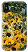 Sunflowers For Sale IPhone Case