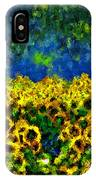 Sunflowers No2 IPhone Case