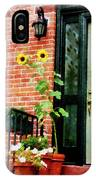 Sunflowers On Stoop IPhone Case