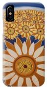 Sunflowers Rich In Blooming IPhone Case