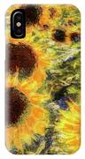 Sunflowers Summer Van Gogh IPhone Case