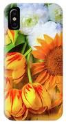 Sunflowers Tulips IPhone Case