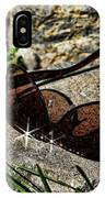 Sunglasses On Stone IPhone Case