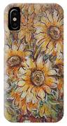 Sunlight Bouquet. IPhone Case