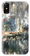 Sunlight On Mossy Tree IPhone Case