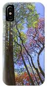 Sunlight On Upper Branches IPhone Case