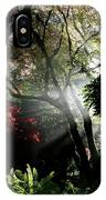 Sunlight Through The Tree In Misty Morning 1. IPhone Case