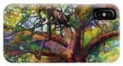 Sunlit Century Tree IPhone X Case