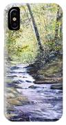 Sunlit Stream IPhone Case