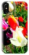 Sunlit Tulips IPhone Case