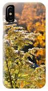Sunlit Wildflower IPhone X Case