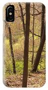 Sunlit Woods IPhone Case