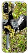 Sunning Anhingas Bird One IPhone Case