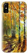 Sunny Birches IPhone Case