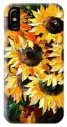 Sunny Bouquet IPhone Case