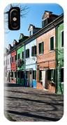 Sunny Colors Of Burano IPhone Case