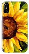 Sunny Floral IPhone Case