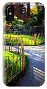 Sunny Garden Path IPhone Case