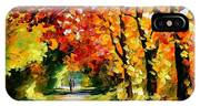 Sunny Path IPhone Case