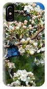 Sunny Pear Blossoms IPhone Case