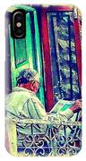 Sunny Sunday Morning Newspaper Vintage India Rajasthan Udaipur 2b IPhone Case