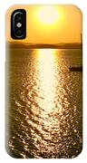 Sunrise 6 8 17 Malletts Bay IPhone Case