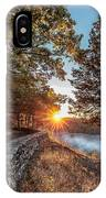 Sunrise At Great Bend IPhone Case
