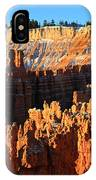 Sunrise At Sunset Point In Bryce Canyon National Park IPhone Case