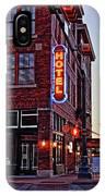 Sunrise Hotel IPhone Case