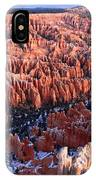 Sunrise In Bryce Canyon Amphitheater IPhone Case