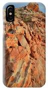Sunrise On Colorful Sandstone In Valley Of Fire IPhone Case