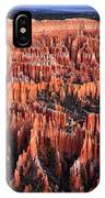 Sunrise On The Hoodoos Of Bryce Canyon IPhone Case