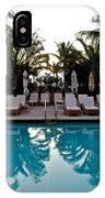 Sunrise Pool IPhone Case