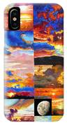 Sunrise Sunset Sunrise IPhone Case