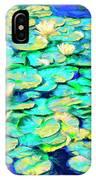 Sunrise Waterlilies IPhone Case