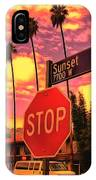 Sunset 7700w IPhone Case
