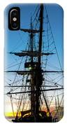 Sunset Ahoy IPhone Case