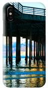 Sunset At Pismo Beach Pier IPhone Case