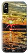 Sunset At Yellowstone IPhone Case