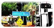 Sunset Blvd IPhone Case