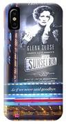 Sunset Boulevard On Broadway IPhone Case