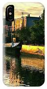 Sunset Canal Reflections IPhone Case
