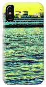 Sunset Cruise On The Ferry IPhone Case