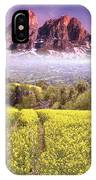 Sunset Fields IPhone Case