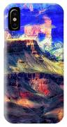 Sunset Glow At Mather Point IPhone Case