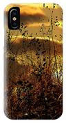 Sunset Grasses IPhone Case