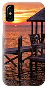 Sunset In Hatteras IPhone Case
