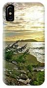 Sunset Off Vancouver Island IPhone Case