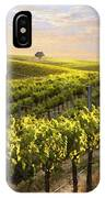 Sunset On A Vineyard IPhone Case